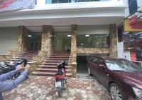 Cho thuê tòa văn phòng MP Dịch Vọng Hậu, Cầu Giấy, Hà Nội. DT 140m2 7 tầng 1 hầm thông sàn 145tr/th
