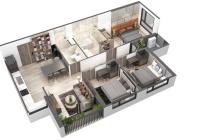 Tuyệt phầm nghỉ dưỡng Sky Oasis Ecopark 3 phòng ngủ, giá chỉ 2,3 tỷ