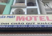 Nhà mặt tiền - Tên Lửa - Quận Bình Tân - TPHCM - kẹt tiền bán gấp - nhà 1 trệt 3 lầu - giá rẻ