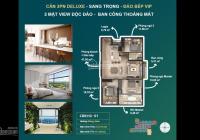 Độc quyền căn hộ tầng đẹp. Chỉ từ 580tr sở hữu căn hộ 6 sao 3pn 2vs Haven Park view 270 độ nội khu