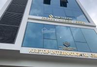 CC bán tòa nhà mới xây dựng có PCCC, DT 122.5m2 * 7,5 tầng + hầm tại phố Trần Thái Tông. Giá 50 tỷ
