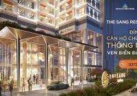 Căn hộ cao cấp The Sang Residence sổ đỏ lâu dài - Chỉ với 900tr sở hữu ngay căn 2pn view trực biển