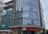 Cho thuê toà nhà văn phòng phố Duy Tân, CG, DT 120m2, 9 tầng, 1 hầm, lô góc 2 MT. LH: 0399909083