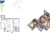 Tôi bán căn 3PN, full đồ CC Hà Nội Homeland tầng 1509, DT 78.28m2 giá 1 tỷ 980/ căn: 0962449105