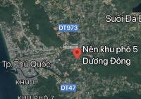 Hot! Chủ cần tiền bán gấp lô đất quá đẹp thị trấn Dương Đông - Phú Quốc