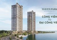 Chỉ 390 triệu sở hữu ngay căn hộ 6 sao tại dự án Haven Park, 3 mặt thoáng, CK khủng lên tới 13%