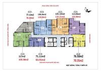 Bán lỗ 300tr CC Luxury Park View, 1505 (102.9m2) &1808(63.9m2) & 1602(118m2), 2.6 tỷ, 0971085383