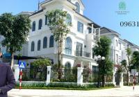 Bán căn Biệt thự view vườn hoa giá tốt nhất Vinhomes Green Villas