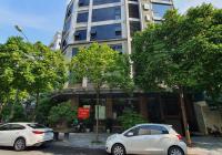 Cho thuê tòa nhà phố Duy Tân - Dịch Vọng Hậu, Cầu Giấy. 180m2 * 8T + 1 hầm, mặt tiền 22m, 200 triệu