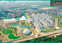 Bán căn góc 2 mặt tiền Green villas (18m & 12.5m), mặt đường 25m, diện tích 257m2, giá bán 150tr/m2