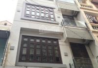 Cho thuê căn nhà ngõ 201 phố Trần Quốc Hoàn. Diện tích 45m2 x 5 tầng, mỗi tầng 1 phòng 1 WC