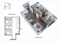 Bán căn hộ 2PN Udic Westlake Tây Hồ. Nhận nhà luôn, giá chỉ từ 3 tỷ/căn full nội thất LH 0983650098