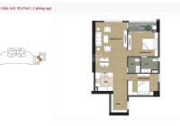 Bán chung cư đối diện Lotte Mall Tây Hồ 2PN 85.67m2 giá 3,1tỷ ở Udic Westlake CK 4% nhận nhà ngay
