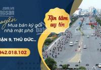 MT rẻ đẹp nhất Lê Văn Việt Q9, DT 10*42=420m2 công nhận, vuông đét, ngay ngã 3 Mỹ Thành. 60 tỷ TL