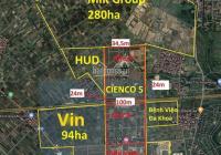 Bán đất biệt thự, liền kề Cienco 5 Mê Linh giá rẻ, gần Hà Phong, sổ đỏ chính chủ. LH 0969963935