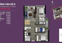 Sở Hữu Ngay Căn 08 Tầng 15 Dự Án The Nine- Số 9 Phạm Văn Đồng, Full Nội Thất Cao Cấp, CK 270 Triệu