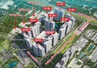 Chính chủ bán CC Vinhomes Smart City, tầng 1605 - 75,6m2 & 1908 - 30,6m2 tòa S1.02. LH O782*4O6*773