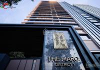 Bán căn hộ chung cư 1 phòng ngủ The Marq Quận 1