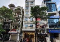 Cho thuê nhà phố Trần Thái Tông 170m2 x 8 tầng 1 hầm tiện làm trụ sở công ty, ngân hàng, spa