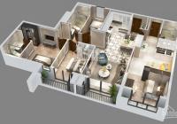 Bán căn hộ kép 2 cửa chính Goldmark City  DT 135m2 gồm 3PN + 1 Studio (40m2) thanh toán giãn 2 năm