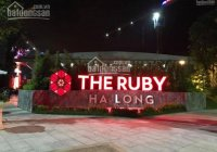 Hot chỉ với 900tr sở hữu ngay căn hộ cao cấp của chủ đầu tư mới cung cấp dự án The Ruby Hạ Long