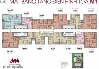 Chính chủ bán căn hộ Metropolis Liễu Giai, 75m giá 5,4 tỷ sổ đỏ chính chủ, nhận nhà ở luôn