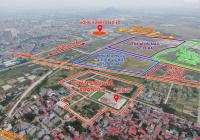 Đất đấu giá liền kề dự án Aeon Mall Bắc Ninh