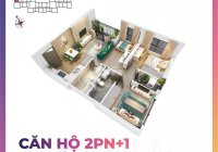 Vinhome Smart City,Căn 2 ngủ + 1 hướng đông nam giá 2tỷ490 triệu căn 69m2 tầng 26 view trường học,
