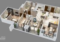 Goldmark City  136 Hồ Tùng Mậu khu đô thị sang trọng căn hộ kép dualkey 2 DT 135m2 4PN view thoáng