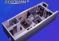Thiết kế nổi bật của căn hộ Eco Xuân 1PN 47m2. Lựa chọn tối ưu cho gia đình trẻ