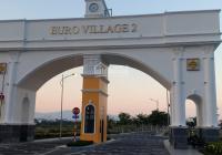 Bán đất biệt thự Euro Village 2, Hòa Xuân Block B21.7 mặt sau view kênh cực đẹp giá tốt