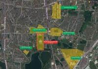 Chính Chủ cần bán căn góc mặt đường 13,5m gần đường Tân Mai Vị trí cực Vip Lh: 0981311369