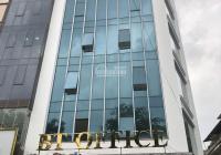 Cho thuê tòa nhà mặt phố Nguyễn Khang, 120m2 7T nổi 1 hầm, thông sàn thang máy, căn góc, giá 120 tr