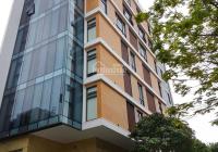 Cho thuê nhà mặt phố Hoàng Ngân 120m2x6T MT:7m giá 65tr/thang