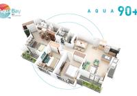bán căn hộ 105m, tầng trung, ban công rộng, view sân golf, giá 3.350 LH 0328920737 (Zalo)