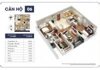 Bán lại căn 3 phòng ngủ rẻ nhất S2 - Goldmark City . Full đồ, chính sách 3 năm - 0968316162