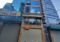 Cho thuê nhà phố Hoàng Quốc Việt, Cầu Giấy 150m2 6T MT 5m thông sàn thang máy nhà mới đẹp giá 76tr
