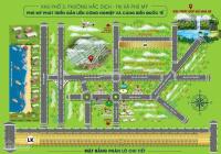 Bán đất mặt tiền đường Trần Phú thông ra Hồ Nhà Bè (Kp3, P. Hắc Dịch, Tx. Phú Mỹ). Giá chỉ 8tr/m2