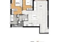Căn hộ Empire City tầng 2 tiện di chuyển, diện tích 104.69m2 thoáng đãng, 2pn, giá cực tốt