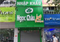 Cho thuê nhà mặt phố Nguyễn Phong Sắc. Diện tích 45m2 x 3 tầng,  mặt tiền 3,5m, Giá 18 triệu/th