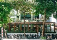 Cho thuê nhà mặt phố Trần Thái Tông nằm trên ngã tư, nhà có hầm, Mặt tiền 15m, LH: 0987625181