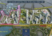 Bán Shophouse The Manor Central Park 75m2, 100m2, 150m2. Giá từ 20 tỷ, full nội thất
