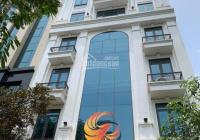 Nhà VIP Trần Thái Tông 160m2 8 tầng Thông Sàn MT 10m, 2 ô tô tránh. Giá 60 tỷ, LH E Tuấn 0392969999