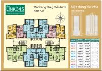 Bán căn Góc 2 mặt thoáng 2 PN tại The Link Ciputra, Ck 15%, HTLS 0%/24M giá từ 3.2 tỷ Nhận nhà ngay