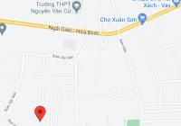Bán 2 lô đất chính chủ mặt tiền đường nhựa gần Xóm Sài Gòn, Xuân Sơn, Châu Đức