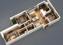 Thiết kế căn hộ 90m2