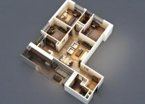 Thiết kế căn hộ 91m2