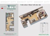 Thiết kế căn hộ A1.2-2