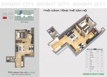 Thiết kế căn hộ A1.2-3