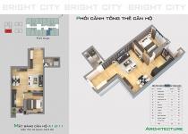 Thiết kế căn hộ A1.2-11